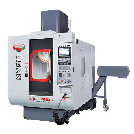 [Wie-MV-P-Tap.] Wiesser MV500P CNC Tapping Center